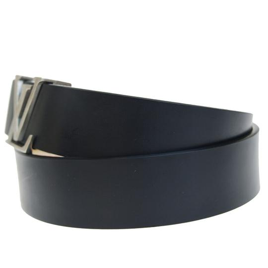 Louis Vuitton LOUIS VUITTON Men's Ceinture Belt Leather Black France Image 1