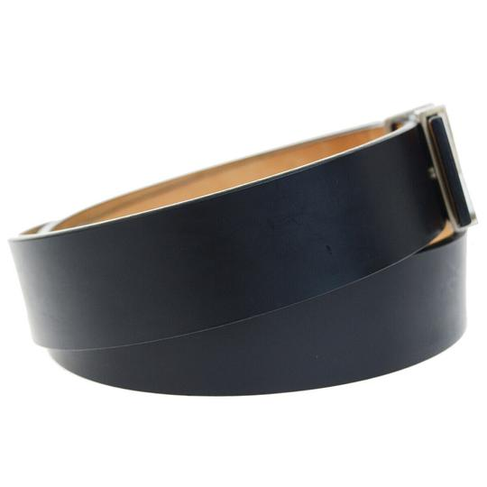 Louis Vuitton LOUIS VUITTON Men's Ceinture Belt Leather Black France Image 3
