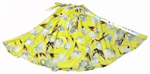 Cupio Maxi Skirt yellow with pattern