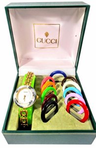 Gucci Gucci Bezel multi color watch