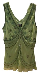 Adrianna Papell Top green
