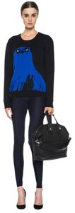 Alexander McQueen Blue & Black Leggings