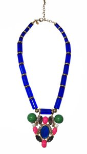 Leslie Danzis Chunky Statement Necklace