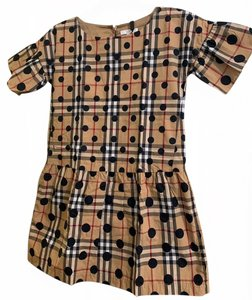 Burberry short dress Beige, Black, and Red on Tradesy