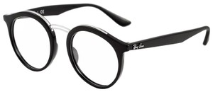 Ray-Ban AUTHENTIC EYEGLASSES FRAME RB 7110 2000 BLACK 49-20-150mm