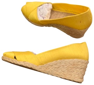 Lauren Ralph Lauren yellow Wedges