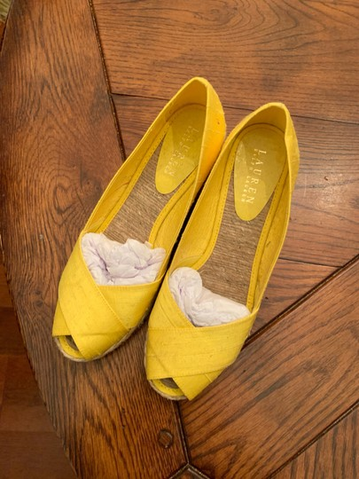 Lauren Ralph Lauren yellow Wedges Image 1