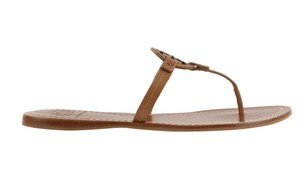 Tory Burch Flip Flop Tb Brown Sandals