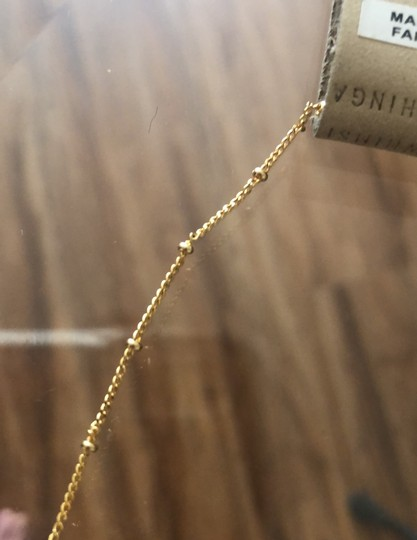 Anthropologie Pearl Drop Delicate Necklace Image 6