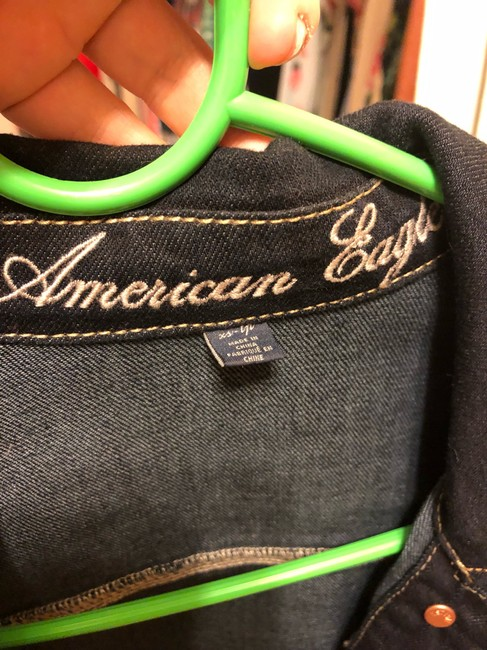 American Eagle Outfitters Womens Jean Jacket Image 2