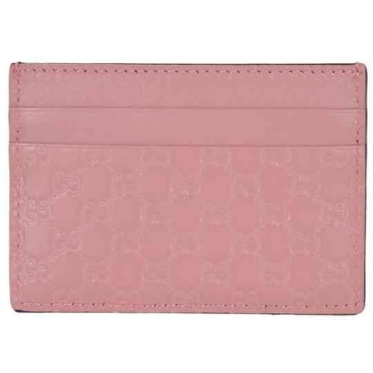 Preload https://img-static.tradesy.com/item/25955980/gucci-pink-microguccissima-gg-logo-leather-document-card-case-476010-wallet-0-0-540-540.jpg