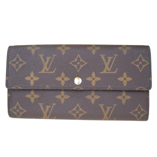 Preload https://img-static.tradesy.com/item/25955981/louis-vuitton-brown-portefeuille-sarah-long-bifold-monogram-wallet-0-0-540-540.jpg