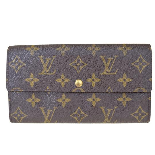 Preload https://img-static.tradesy.com/item/25955997/louis-vuitton-brown-credit-long-bifold-purse-monogram-wallet-0-0-540-540.jpg