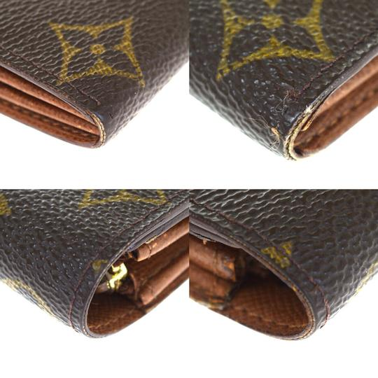 Louis Vuitton Authentic LOUIS VUITTON Credit Long Bifold Wallet Purse Monogram Image 10