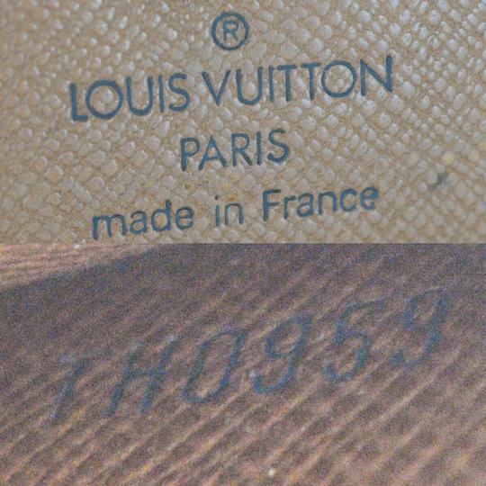 Louis Vuitton Authentic LOUIS VUITTON Credit Long Bifold Wallet Purse Monogram Image 11