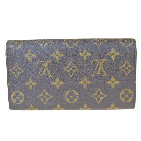 Louis Vuitton Authentic LOUIS VUITTON Credit Long Bifold Wallet Purse Monogram Image 5