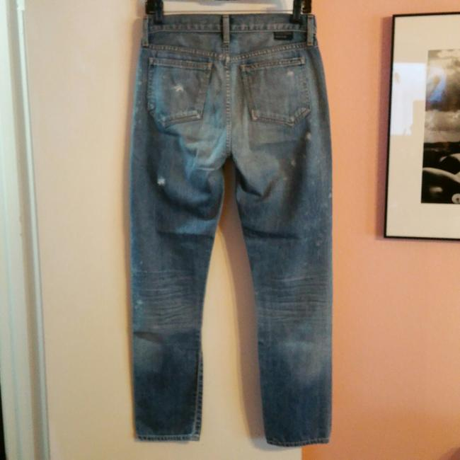 Goldsign 24 Xs J. Crew Destroyed Vintage Straight Leg Jeans-Distressed Image 2