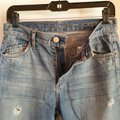 Goldsign 24 Xs J. Crew Destroyed Vintage Straight Leg Jeans-Distressed Image 5