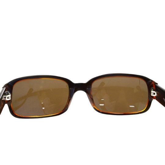 Chanel Auth CHANEL CC Quilted Sunglasses Eye Wear Plastic Bordeaux Image 2