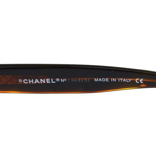 Chanel Auth CHANEL CC Quilted Sunglasses Eye Wear Plastic Bordeaux Image 8