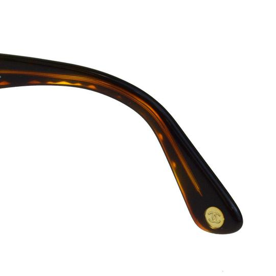 Chanel Auth CHANEL CC Quilted Sunglasses Eye Wear Plastic Bordeaux Image 9