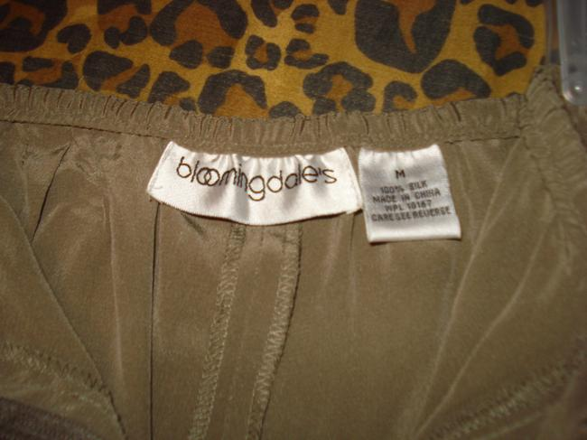 Bloomingdale's Lounging Straight Taupe Wide Leg Pants Tan Image 4