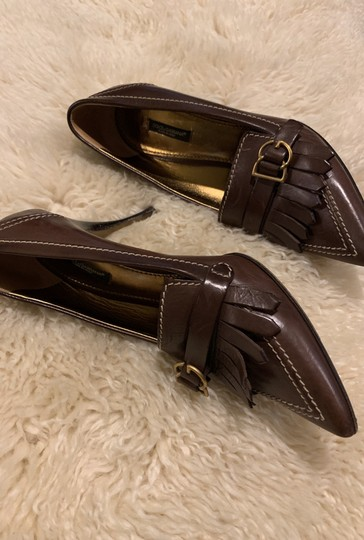 Dolce&Gabbana Dark (chocolate) brown Pumps Image 2