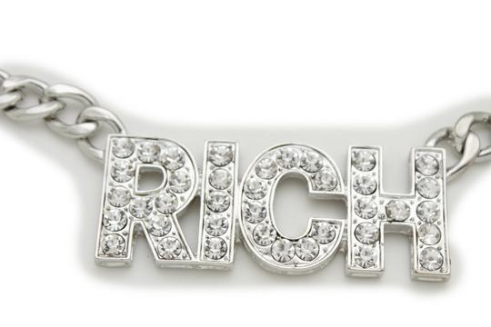Alwaystyle4you Women Hip Hop Fashion Belt Silver Metal Chain Rich Charm Buckle XS S M Image 10