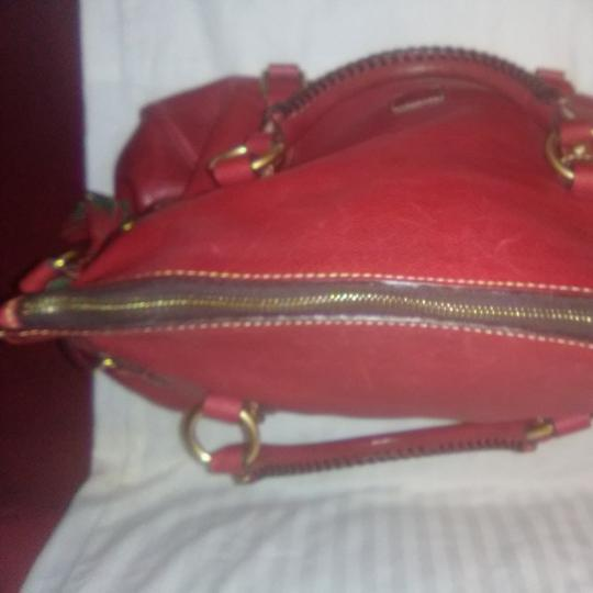Dooney & Bourke Satchel in Red Image 4