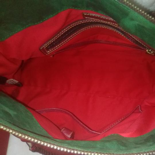 Dooney & Bourke Satchel in Red Image 5