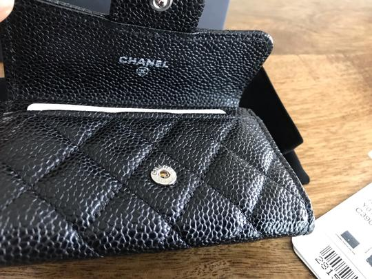 Chanel NEW Chanel Classic Flap Card Holder Caviar Leather Image 3
