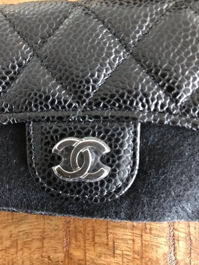 Chanel NEW Chanel Classic Flap Card Holder Caviar Leather Image 6