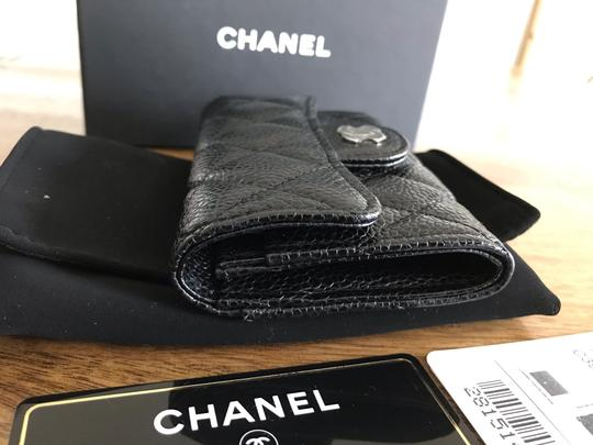 Chanel NEW Chanel Classic Flap Card Holder Caviar Leather Image 8