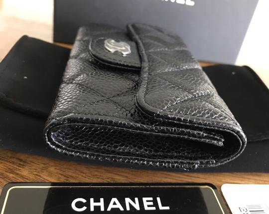 Chanel NEW Chanel Classic Flap Card Holder Caviar Leather Image 9