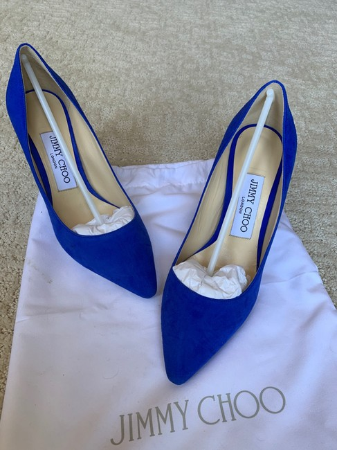 Item - Blue Romy 85 Pumps Size US 5 Regular (M, B)