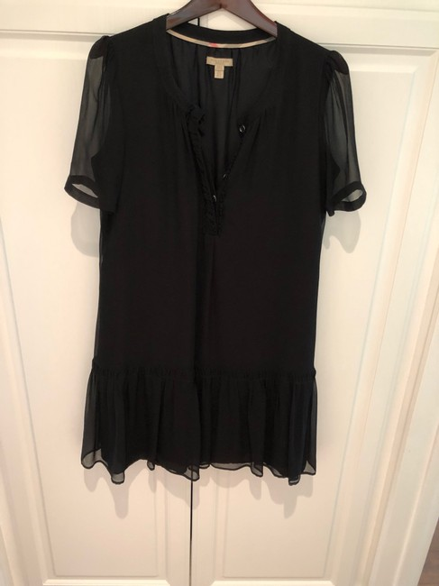 Burberry short dress black on Tradesy Image 1