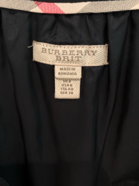 Burberry short dress black on Tradesy Image 3