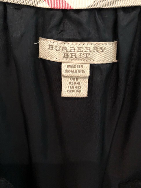 Burberry short dress black on Tradesy Image 4