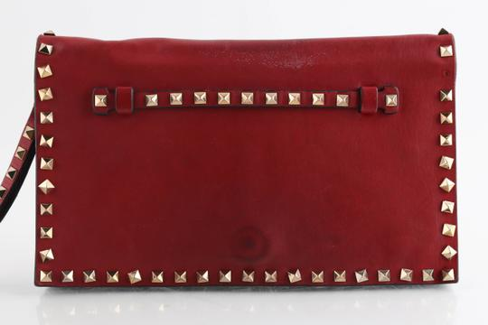 Valentino Red Clutch Image 1