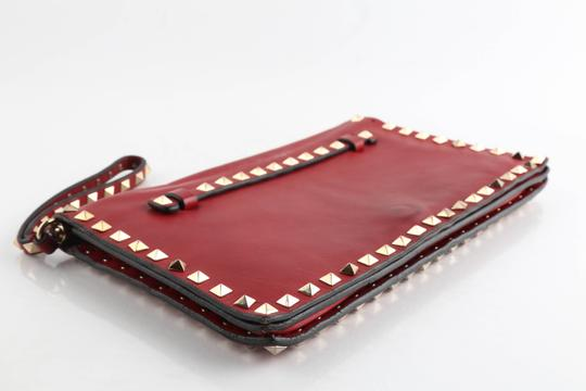 Valentino Red Clutch Image 5