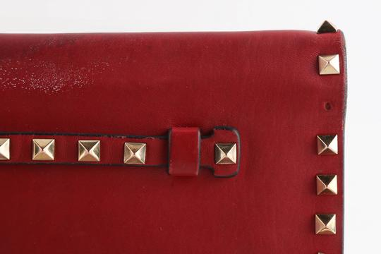 Valentino Red Clutch Image 7