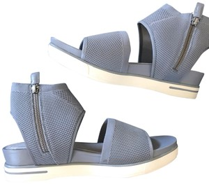 Eileen Fisher moon grey gray Sandals