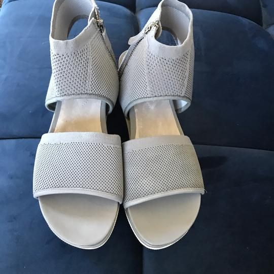 Eileen Fisher moon grey gray Sandals Image 3