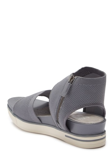 Eileen Fisher moon grey gray Sandals Image 5