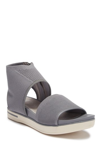 Eileen Fisher moon grey gray Sandals Image 6