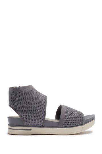 Eileen Fisher moon grey gray Sandals Image 8