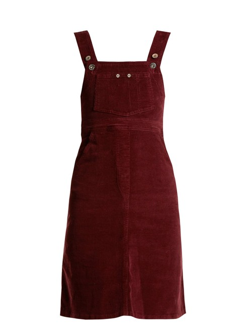 Preload https://img-static.tradesy.com/item/25956282/eve-denim-burgundy-marianne-corduroy-overall-short-casual-dress-size-4-s-0-0-650-650.jpg