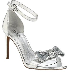 Michael Kors Party Sexy Silver Pumps