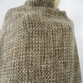 100% CHANEL TWEED FABRIC LARGE 62/61 INCH FOR SEWING JACKET Brown Jacket Image 5