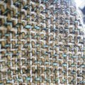 100% CHANEL TWEED FABRIC LARGE 62/61 INCH FOR SEWING JACKET Brown Jacket Image 7